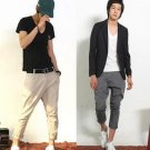 2504100004 Mens casual middlle pants
