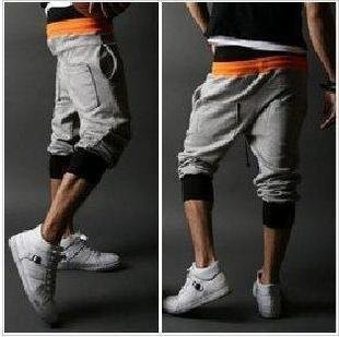2504100005 Mens sporty middle pants