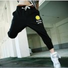 2504100006 Mens sporty middle pants