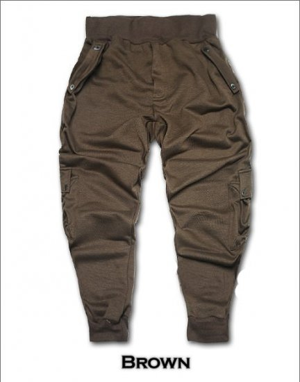2504100007 Mens sporty middle pants