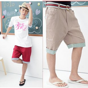 2504100013 Mens casual middle pants