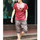 2504100015 Mens casual middle pants