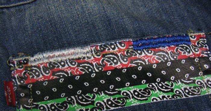 2504100019 Mens casual denim short pants