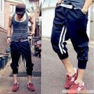 2504100027 Mens sporty middle pants