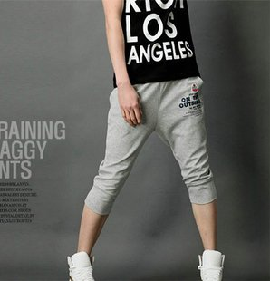 2504100034 Mens casual middle pants