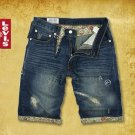 2504100035 Mens casual short denim pants