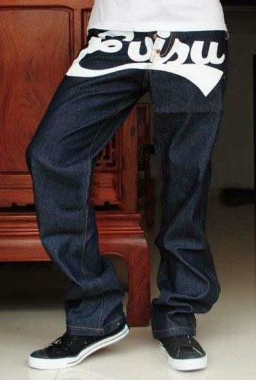 2604100003 Mens print jeans