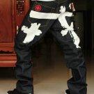 2604100005 Mens print jeans