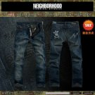 2604100018 Mens wash long jeans