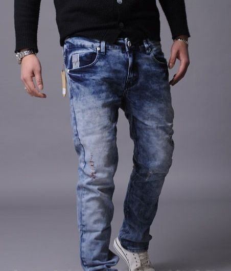 2604100046 Mens denim pants
