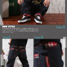 2604100074 casual denim hiphop pants