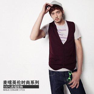 2804100014 Mens casual vest