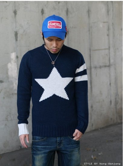 2804100077 Mens casual sweater