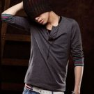 2804100095 Mens casual long tee