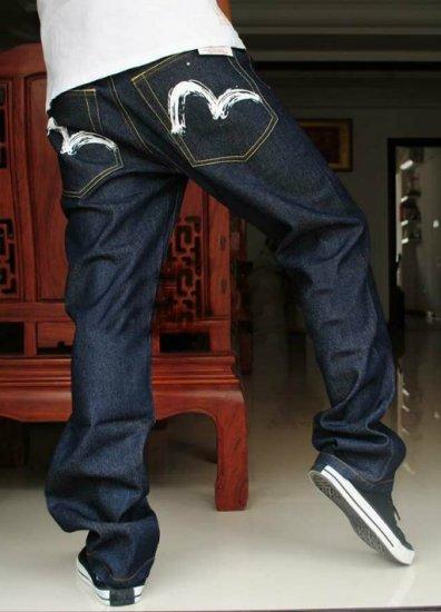 2604100004 Mens print jeans