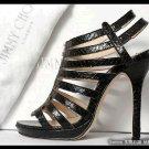 0705100001 lady leather high heel