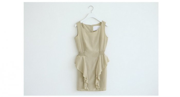 0805100004 lady chiffon one piece