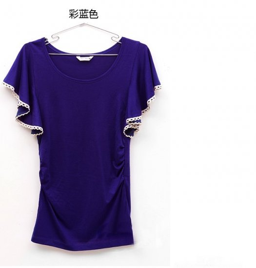 0605100006 lady casual short tee