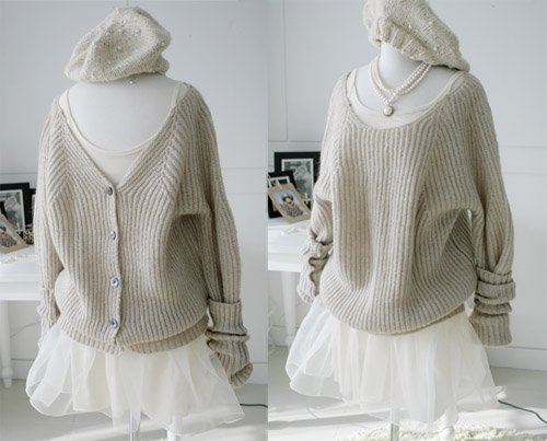0905100002 lady casual sweater