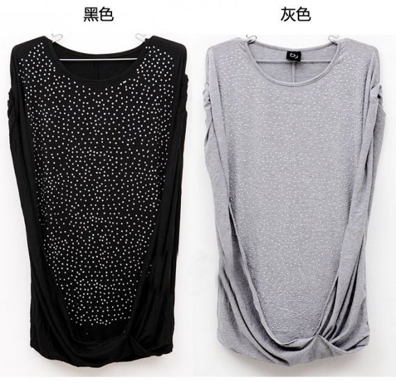 0605100008 lady casual short tee