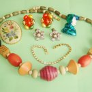 Vintage Jewelry Lot 6 Pieces #3