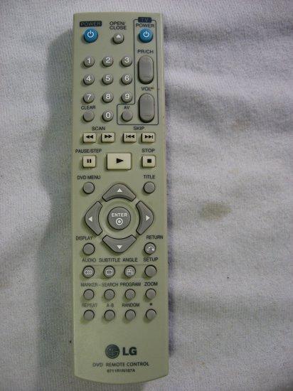 LG Remote Control Model No.6711R1N167A