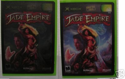 Sexy rare Jade Empire light game display stand xbox 360