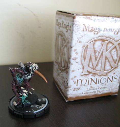 Mage Knight Minions LE Level 4 figure  # 117 Anopheles