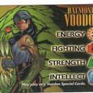 Marvel Wildstorm Overpower Daemonite Voodoo chrome card
