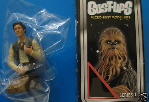 Star Wars Bust-Ups - Series 1 (one) - Han Solo