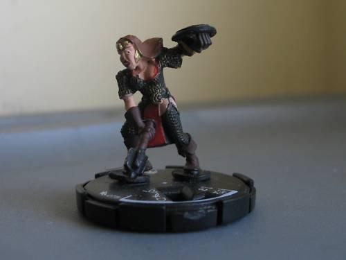 Mage Knight Dragon's Gate THRUSH rare hero unique #075
