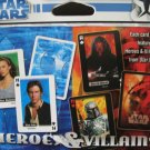 Star Wars Heroes & Villians 2-Deck Poker Playing Cards