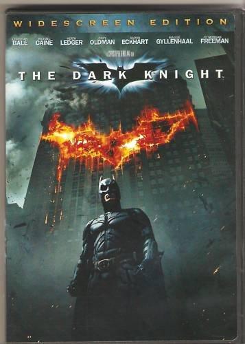 Batman The Dark Knight (DVD, Widescreen) Bale, Ledger