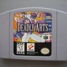 Deadly Arts (Nintendo 64) N64 fighting game
