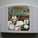 Bio F.R.E.A.K.S. (freaks) Nintendo 64 N64 cartridge