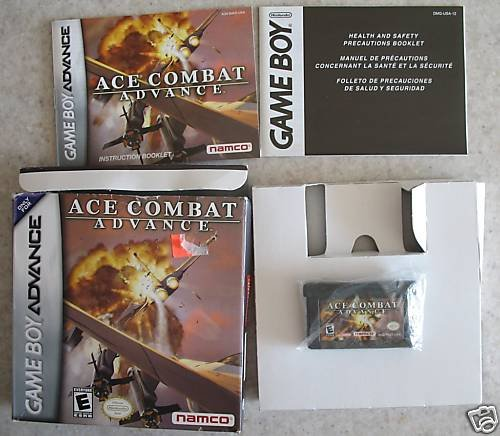 Ace Combat Advance (Game Boy Advance) GBA , DS complete