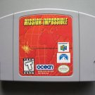 Mission: Impossible (Nintendo 64) N64 game cartridge
