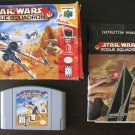 Star Wars: Rogue Squadron (Nintendo 64) N64 complete