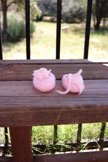 Starburst Pink Booties