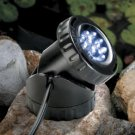 Single set *WARM COLOR* 12 LED Pond Lights w/Photocell