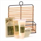Bamboo- Lemongrass Bath Set