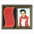 Elvis Presley Biography Plaque