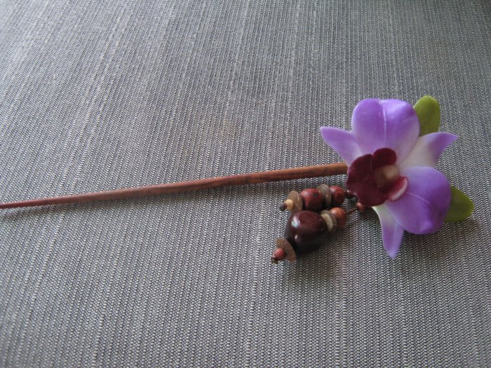 Floral Hairpin
