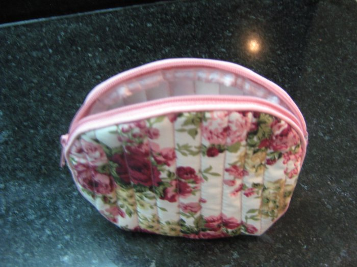 Pink Roses vintage style Coin bag