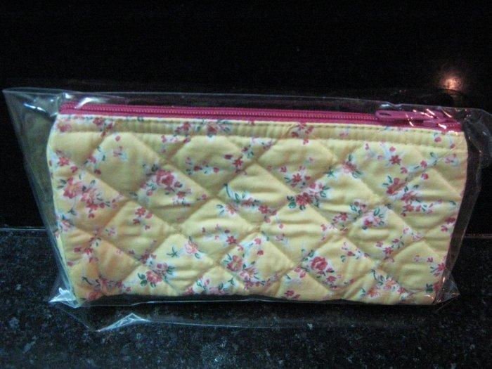 Cute Pink Rose vintage style cosmetic bag (small siez)