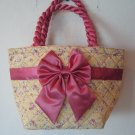 Floral Cotton Bag handmade in Thailand