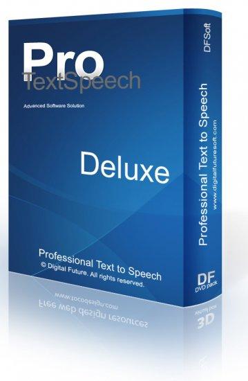 TextSpeech Pro Dx Text-to-Speech Converter for Windows