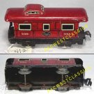MARX TRAINS NYC 4-WHEEL CABOOSE #556 EX g412