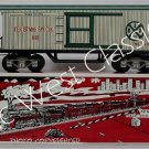 NEW MARX TRAINS CHRISTMAS OLD-TIME BOXCAR / MINT