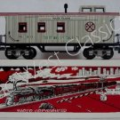 NEW MARX TRAINS CHRISTMAS CABOOSE / MINT